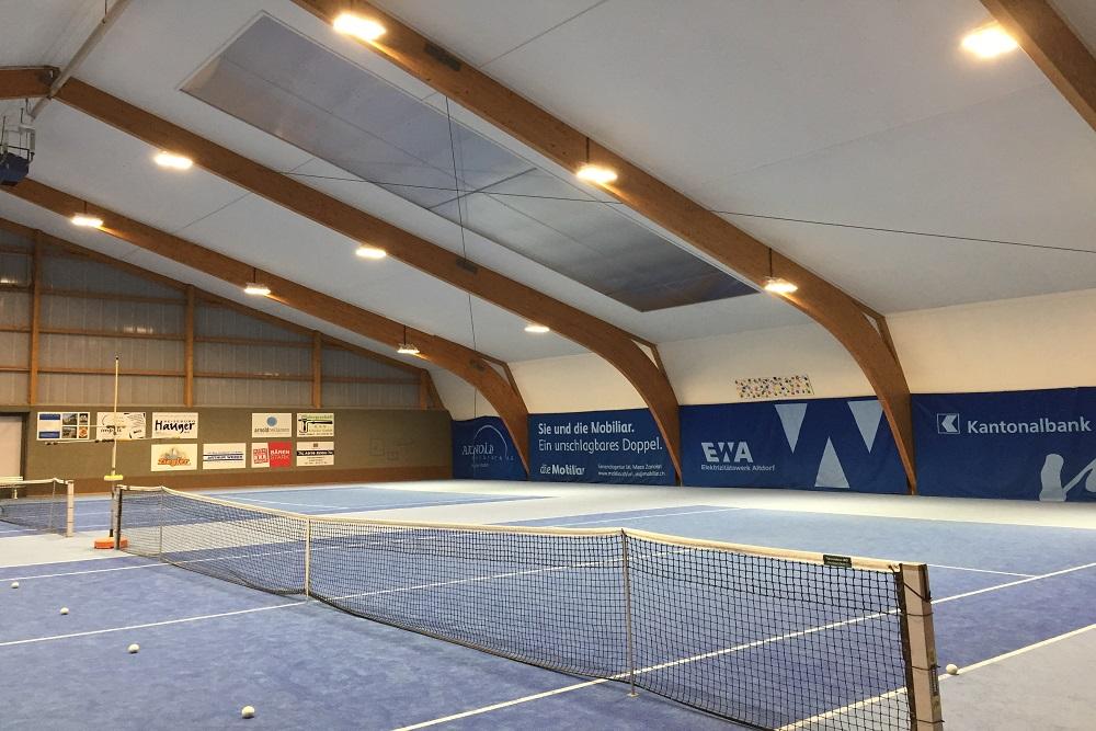 Tennishalle Seedorf