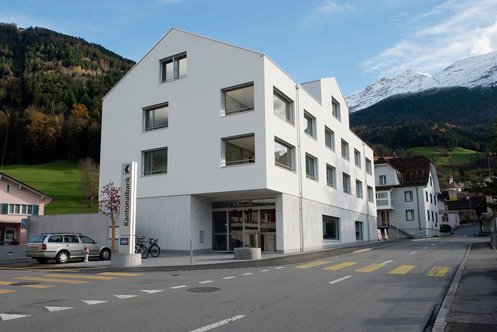 Wohn-/Bankgebäude URKB Schattdorf
