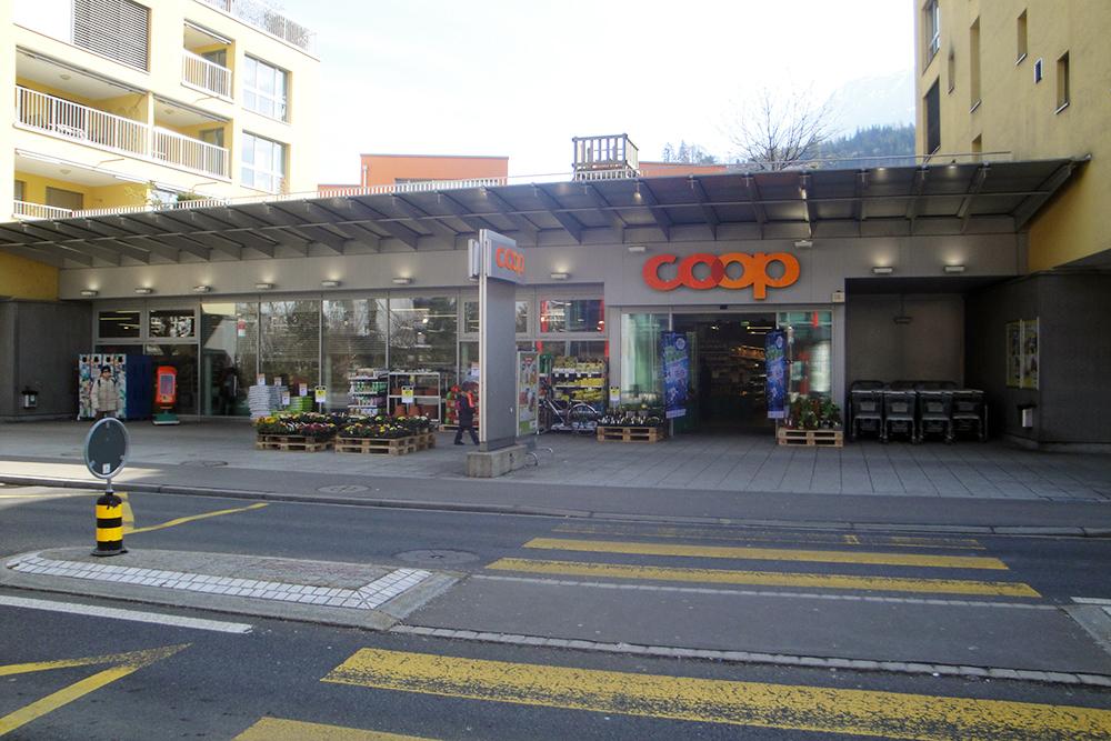 Coop Supermarkt Brunnen