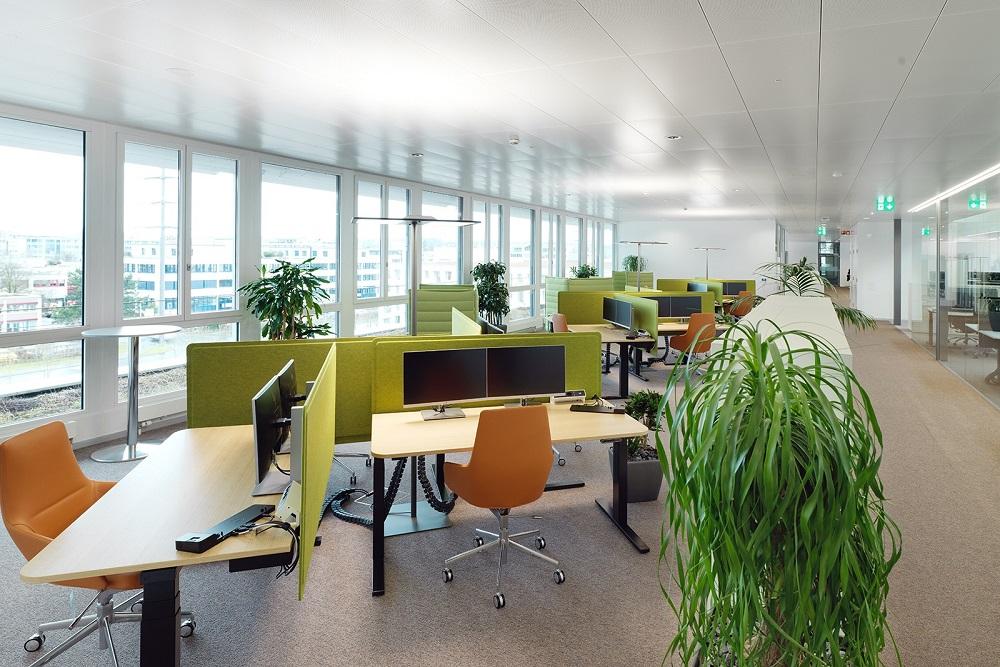Büro 3.OG Bau 4 Roche Rotkreuz