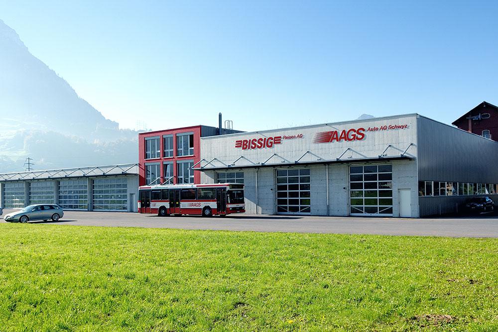 Busdepot Auto AG Schwyz Ibach