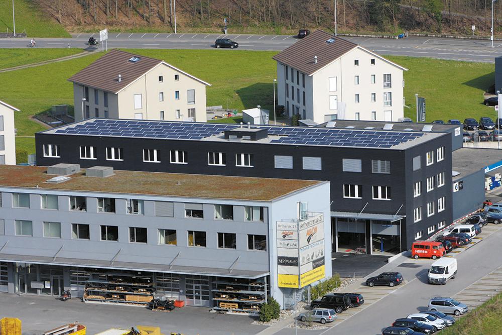 Gewerbegebäude Artherstrasse 25 Immensee
