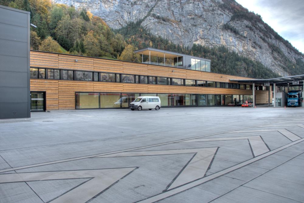 Schwerverkehrszentrum Uri Erstfeld