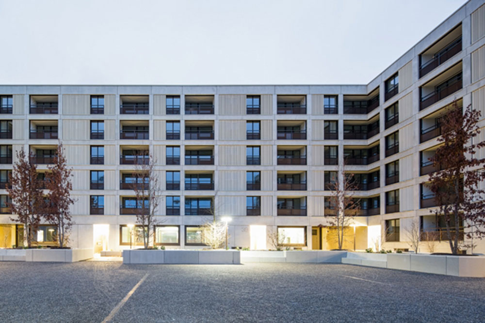 Überbauung Dufauxstrasse Glattpark-Opfikon