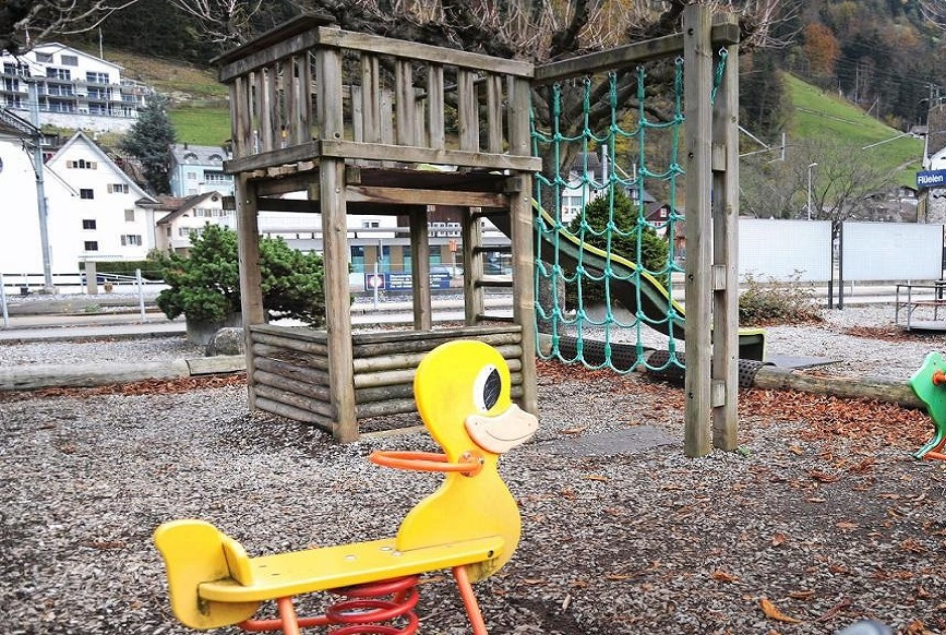 Sponsoring Spielplätze Dorf Flüelen UR